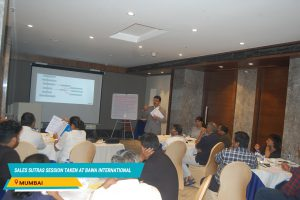 Sales Sutra Session Taken at Bawa International